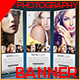 Photography Roll-Up Banner V.01 - GraphicRiver Item for Sale