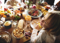 Thanksgiving Celebration Tradition Family Dinner Concept - PhotoDune Item for Sale