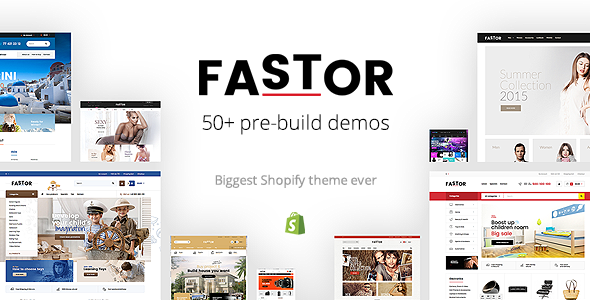 Fastor – Multipurpose Responsive Shopify Theme