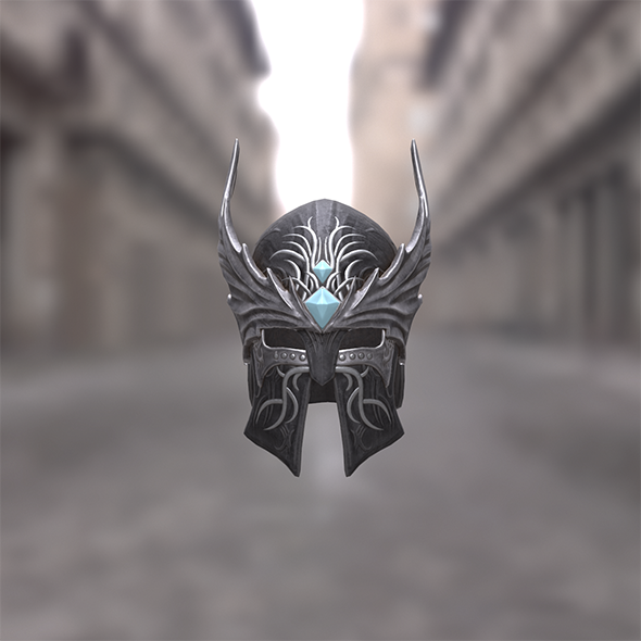 Dragon Wings Helmet - 3DOcean Item for Sale