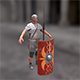 Rome legionary - 3DOcean Item for Sale