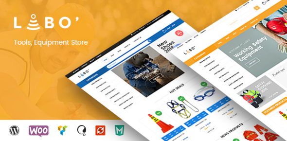 VG Labo – WooCommerce Theme for Tools, Equipment Store