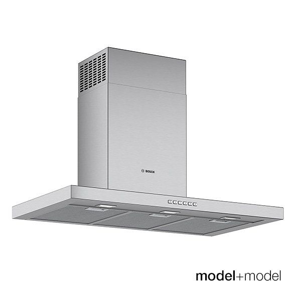 Bosch hoods - 3DOcean Item for Sale