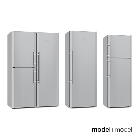 Liebherr fridges - 3DOcean Item for Sale