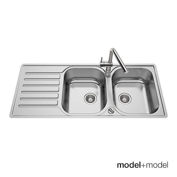 Blanco Lantos kitchen sinks - 3DOcean Item for Sale