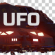 UFO Looped With Mask - Night - 4 Pack - VideoHive Item for Sale