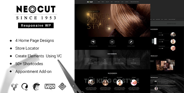 Neo Salon | Hair Salon Theme