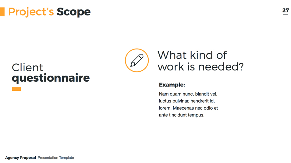 agency proposal - keynote presentation templatejetz | graphicriver, Presentation templates