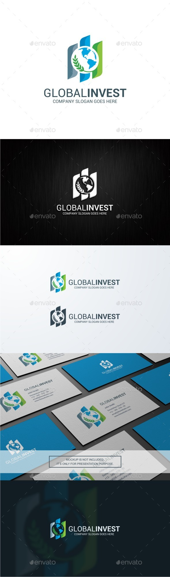 Global Investment Logo - Symbols Logo Templates
