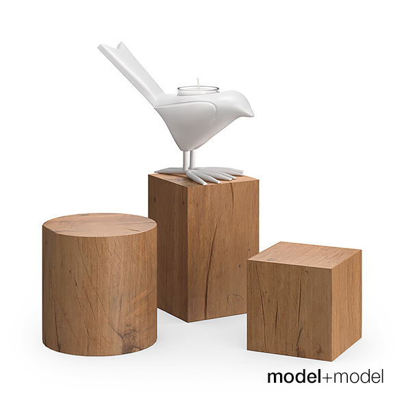 Chick candleholder - 3DOcean Item for Sale