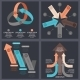 Ultra Modern Infographics Elements - GraphicRiver Item for Sale