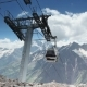 Cable Car With Cabins In The Mountains - VideoHive Item for Sale