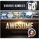 60 Various Bundles Vol.1 - GraphicRiver Item for Sale