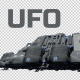 UFO Looped With Mask - Daylight - 3 Pack - VideoHive Item for Sale