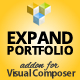 Expandable Portfolio Gallery Addon for Visual Composer