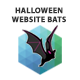 Halloween Website Bats - CodeCanyon Item for Sale