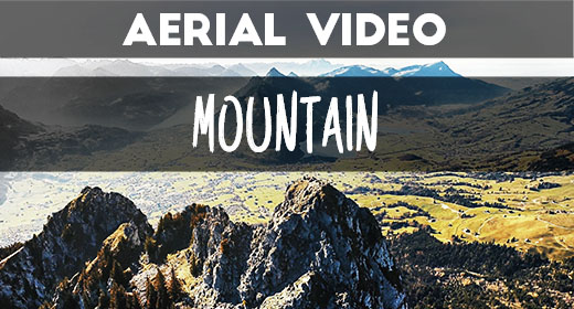 [Aerial Video] Mountains