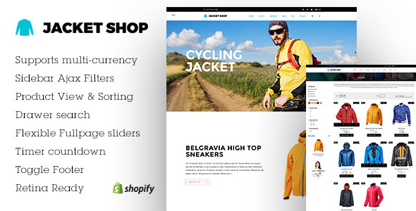Jacket | Fashion Shop Shopify theme