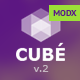 Club Cube v.2 - responsive MODX theme for night club - ThemeForest Item for Sale