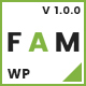 Fam | A WordPress Theme for Creative Portfolios and Blogs - ThemeForest Item for Sale