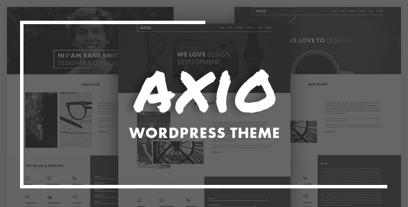 AXIO – Creative Agency and Portfolio WordPress Theme