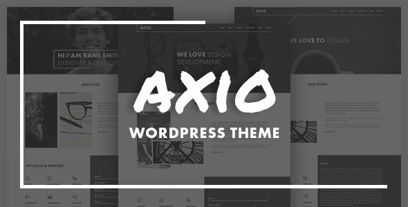 AXIO – Creative Agency and Portfolio WordPress Theme
