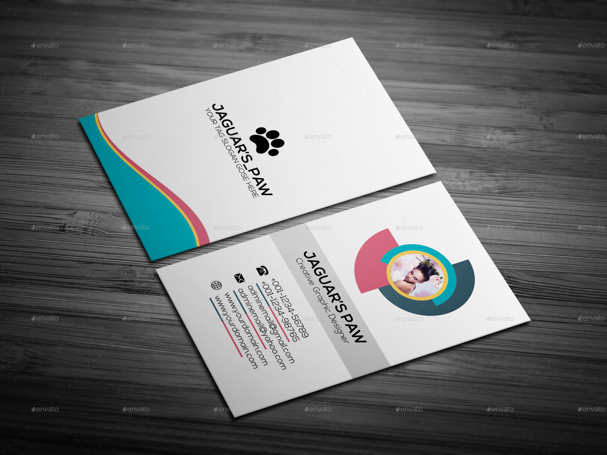 Beauty Spa Business Card by Jaguars_Paw | GraphicRiver