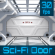 Sci-Fi Door Opening - VideoHive Item for Sale