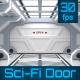 Sci-Fi Door Opening - VideoHive Item for Sale