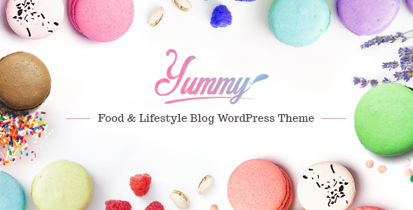 Yummy – Food & Lifestyle Blog WordPress Theme