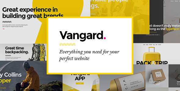 Vangard - A Theme for Freelancers and Agencies - Portfolio Creative