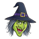 Wicked Witch Face - GraphicRiver Item for Sale