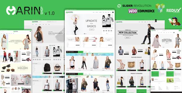 Responsive WooCommerce Theme – Marin
