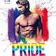 Pride Night Party Flyer