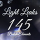 Ultimate Light Leak Pack - 145 Bokeh Elements - VideoHive Item for Sale