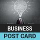 Business Idea Post Card