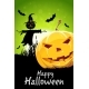 Halloween Background with Pumpkin and Scarecrow - GraphicRiver Item for Sale