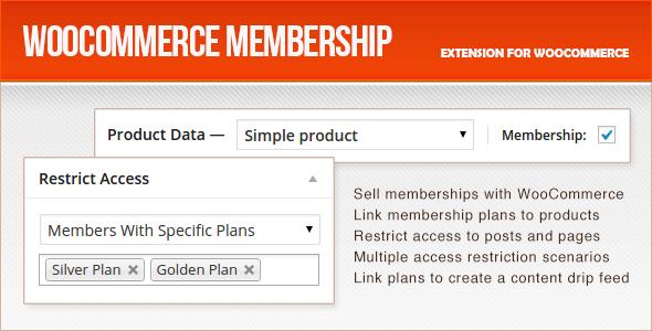 WooCommerce Membership - CodeCanyon Item for Sale