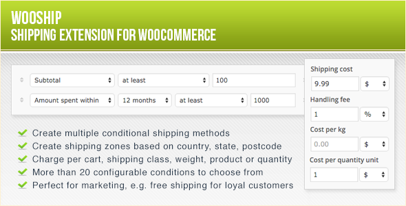 WooShip - WooCommerce Shipping Plugin - CodeCanyon Item for Sale