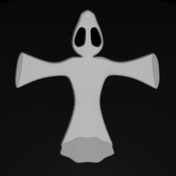 Halloween Ghost - 3DOcean Item for Sale