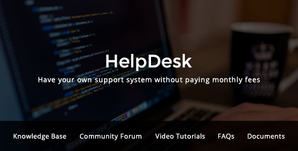 Image of HelpDesk - WordPress Support Center Theme