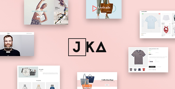 Leo Jka - eCommerce PSD Template - Retail PSD Templates