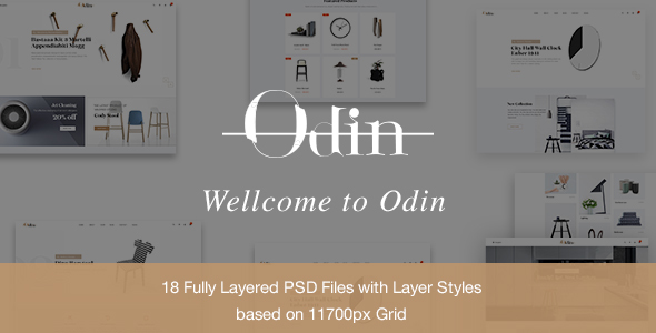 Odin - Multipurpose Ecommerce PSD Template - Shopping Retail