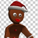 Gingerbread Break Dancer - VideoHive Item for Sale