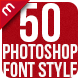 Photoshop Text Style Effects Bundle 1 - GraphicRiver Item for Sale