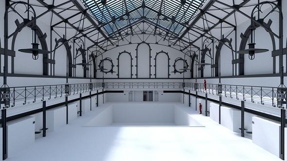 Swimming Pool Charlottenburg - 3DOcean Item for Sale