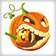 Halloween Crazy Pumpkin - GraphicRiver Item for Sale