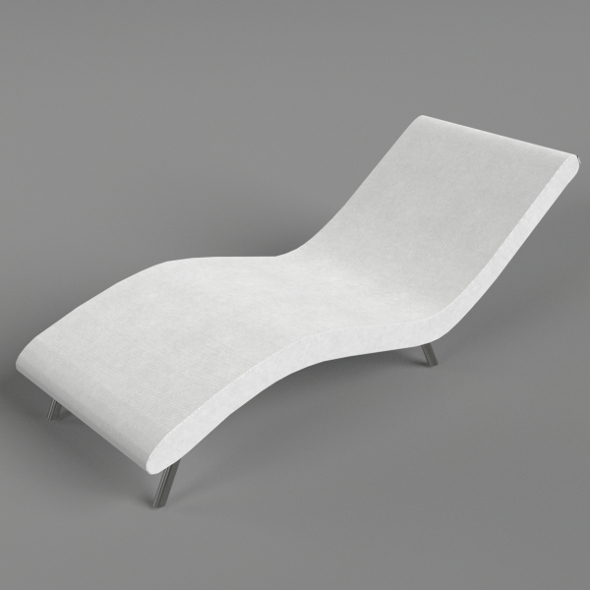 Wave sofa - 3DOcean Item for Sale