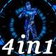 Neon Dance -  VJ Loop Pack (4in1) - VideoHive Item for Sale