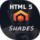 Shades - Creative Multipurpose Reponsive HTML5  template